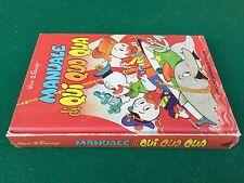 Walt Disney - MANUALE DI QUI QUO QUA , Mondadori (1° Ed 1979) Libro illustrato