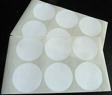White Paper Stickers, 57mm Circular Round, 12 labels, Economy Pack, BLC505