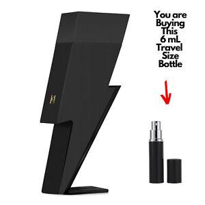 BAD BOY LE PARFUM CAROLINA HERRERA EDP 6mL Sample Travel Size Perfume Cologne