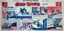 Casey Ruggles by Warren Tufts - full color Sunday comic page - December 3, 1950