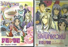 DVD The Story of Saiunkoku Season 1 + 2 ( Chapter 1 - 78 End )