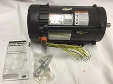 1 HP Hazardous Location Motor 1725 Nameplate RPM 208-230/460 Voltage Frame 145TC