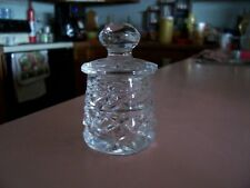 Waterford crystal Glandore small mustard pot