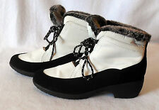 Womens WEATHERPROOF size 9M winter snow BOOT faux fur lined Style LINDA L216