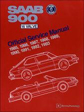 Saab 900 16V 1985-93 (S Turbo Cabrio) Reparaturanleitung workshop service manual