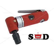 "Pro 1/4"" Mini 90 Degree Head 2 CFM 20,000 RPM Angle Air Die Grinder Cutter 1085"