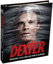 Dexter Seasons 7 & 8 Trading Card Binder Album with 2 Promo Cards