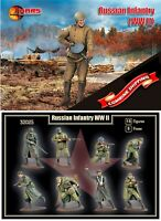 Mars Figures 32025 Russian Infantry (WWII) (15 figures) 1/32