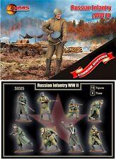 Mars Figures 32025 Russian Infantry (WWII) (15 figures) 1/32