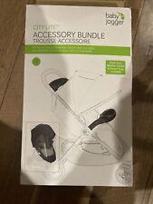 Baby  jogger accessory bundle. City lite. Weather Shield parent Trey See Descrip