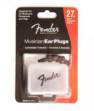 Genuine Fender® Musician Series Black Ear Plugs - 27dB 099-0542-000