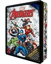 NEW Marvel Avengers Limited Edition Collector's Tin Activity Book & Gift Set!