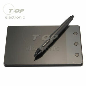 H420 USB Writing Art Drawing Graphics Board Tablet 4x2.3 inch+Digital Pen