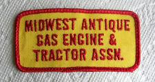 Midwest Antique Gas Engine & Tractor Show Association Patch
