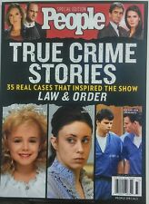 People Special Edition True Crime Stories 2017 33 Real Cases FREE SHIPPING sb