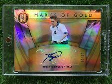 19-20 Gold Standard Soccer ROBERTO BAGGIO ITALY Marks of GOLD Auto 20/29