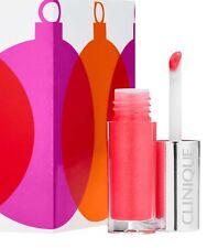NEW Clinique Pop Splash Lip Gloss ROSEWATER POP Travel  Mini .05oz/1.5ml