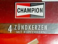 Set of 4 original Champion J8C (841) spark plugs NEW in BOX NOS