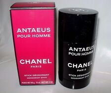 MENS NEW CHANEL ANTAEUS POUR HOMME SCENTED Deodorant SOLID Stick 2 OZ SPICE WOOD