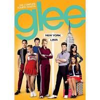 Glee: The Complete Fourth Season 4 Four (DVD, 2013, 6-Disc Set) - NEW!!