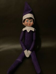 Brand new Christmas Elf Girl Toy Shelf Purple outfit