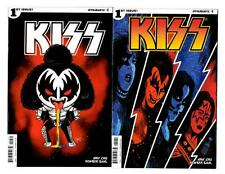 Kiss #1 Variant Lot of 4 Comics (2016) Dynamite VF+ to VF/NM