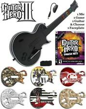 NEW PS3 Guitar Hero III Les Paul Controller w/ Dongle & GH Smash Hits Bundle