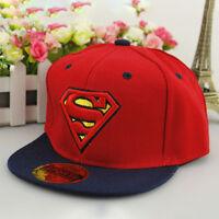 Superhero Kids Boys Girls Baseball Cap Adjustable Snapback Summer Sun Hat Unisex