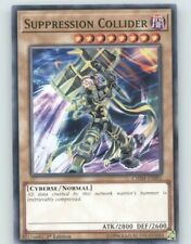 Yugioh CHIM-EN001 Suppression Collide x3 (Common 1st)