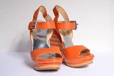 Michael Kors summer sling wedge sandal size 35