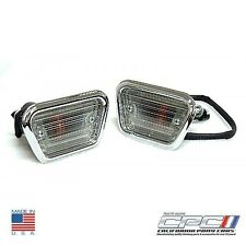 1968 Fastback,Coupe,Convertible Ford Mustang Side Marker Light Assembly Set USA