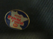 NCAA- 1992 MEN'S FINAL FOUR- TWIN CITIES LOGO BASKETBALL PIN- DUKE WINS BACK2 BK
