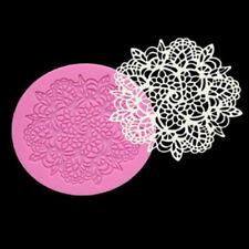 Silicone Fondant Lace Mould Embosser Mat Cake Mold Sugarcraft Decorating Tools