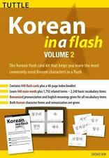 Korean in a Flash Kit Volume 2 (Tuttle Flash Cards)