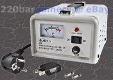 300 Watt Step-Up Down Power Converter Voltage Transformer 110-220V 300W w/ Meter
