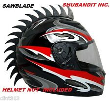 motorcycle bmx helmets dirtbike dirt bike helmet mohawk mohawks peel stick Saw