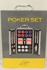 NIB NEW BAR BUTLER POKER CHIPS CARDS SET EVERYTHING WHAT YOU NEEDED MSRP $200