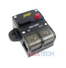 Stinger SGP90200 Circuit Breaker 200 Amp 1/0ga or 4ga Wire Easy Reset/Disconnect