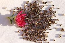 Toho #1 Glass Bugle Beads 12-Bronze  7 grams/ #  221