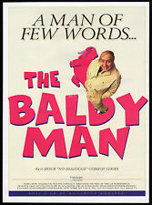 THE BALDY MAN__Original 1995 Trade print AD promo / poster advert__GREGOR FISHER