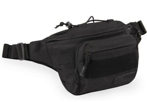 New Highland Tactical Mobility Waist Fanny Pack Black  HL-WP-1-BK Carry Conceal