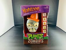 YAHTZEE Plants vs. Zombies Collector Edition Game Brand New In Box Sale