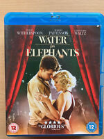 Water For Elephants 2011 Sara Gruen Circo Forbidden Love Drama Gb Blu-Ray