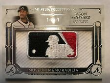 2014 Topps Museum Collection Jason Heyward MLB Logoman Patch 1/1 Cubs