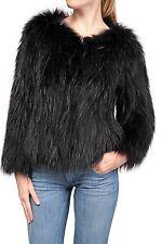 Festliche Hüftlang Damenjacken & -mäntel im Sonstige Jacken-Stil mit Pelz