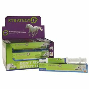 Strategy T Rotational Horse Wormer Vanilla Flavour Worms Up To 700Kg
