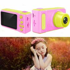 "Pink Kid Digital 1080P HD Camera 2"" Display Gift For Children + SD Card LF884"
