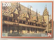 (PRL) BEAUNE BOURGOGNE PUZZLE NATHAN FRANCE 1000 GIOCO 1983 VINTAGE TOY CHILDREN