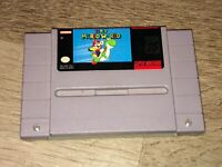 Super Mario World Super Nintendo Snes Battery Saves Cleaned & Tested Authentic