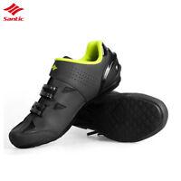 Santic MTB Road Bike Mens Cycling Walking Shoes  Breathable Wear-Resistant Shoes